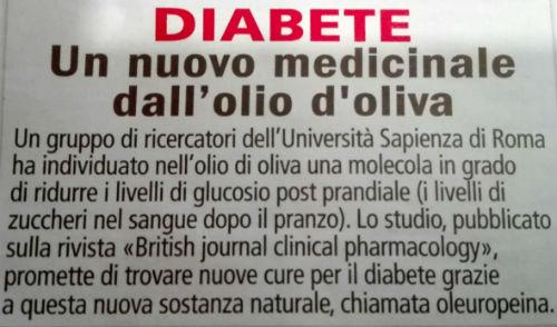 diabete benefici olio oliva