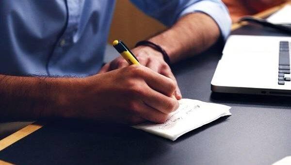 ansia il potere di scrivere